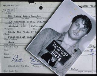 94M.29 Morrison 1963 Tallahassee arrest