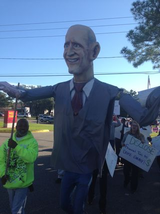 Scott puppet